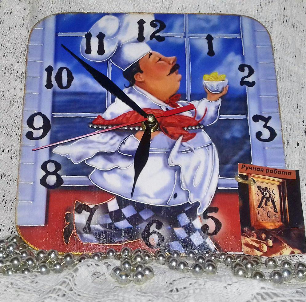 Часы интерьерные Веселый повар