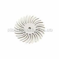 Диск-щетка пластиковый радиальный 25 мм P2500 (белый)