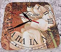 Часы интерьерные Тюльпан