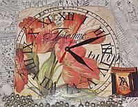 Часы интерьерные Тюльпанное утро