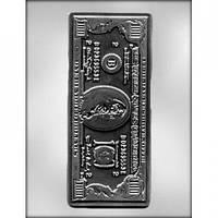 Молд для шоколада Cто долларов 3D (код 03302)