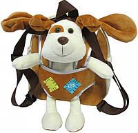 Детский рюкзак-игрушка Сool For School Dog, CF86006, коричневый