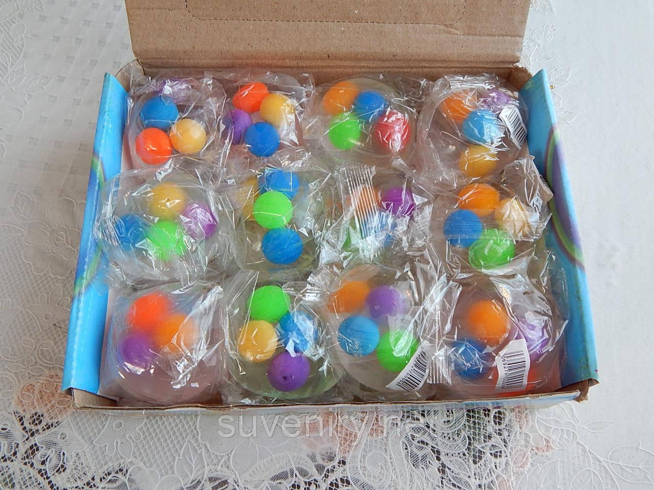 Детские игрушки лизуны в виде яйца