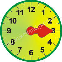 Роздаточний матеріал Годинник (2305)