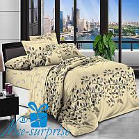 Полуторное сатиновое постельное белье МОНРЕАЛЬ (150*220), фото 1