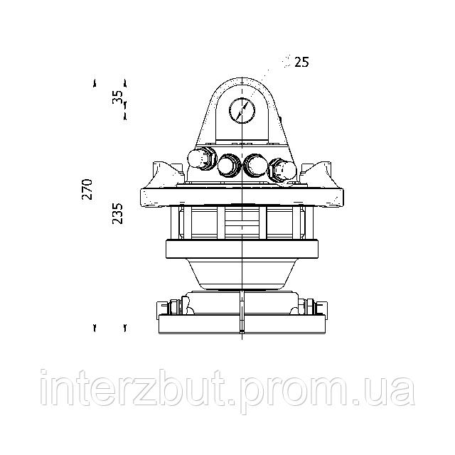 Гидравлический ротатор FHR 4.500RF