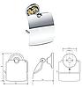 BEMETA RETRO: Тримач туалетного паперу з кришкою, фото 4