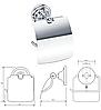 BEMETA RETRO: Тримач туалетного паперу з кришкою, фото 6