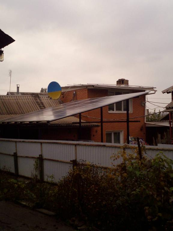 Сетевая солнечная электростанция 5кВт Кривой Рог, ул. Детства