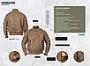 Куртка мужская демис=езонная  тактическая  AVIATOR авиационный   нейлон  Mil-tec  цвет олива    Германия, фото 8