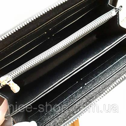 Кошелек Louis Vuitton Supreme черный в коробке, фото 3