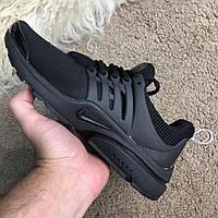 Кроссовки Nike Air Presto черные (реплика люкс класса 1:1)
