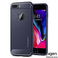 Чехол Spigen для iPhone 8Plus Rugged Armor, Midnight Blue
