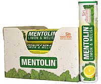 """Леденцы """"Mentolin"""" с Лимоном и Мелисой 20г. (12шт в тубе)"""