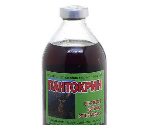 Пантокрин  настойка  250 мл
