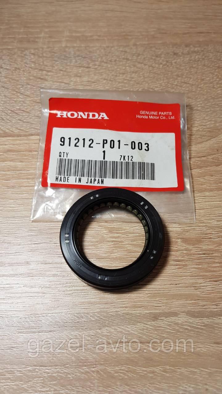 Уплотняющее кольцо, коленчатый вал 91212-P01-003 Honda