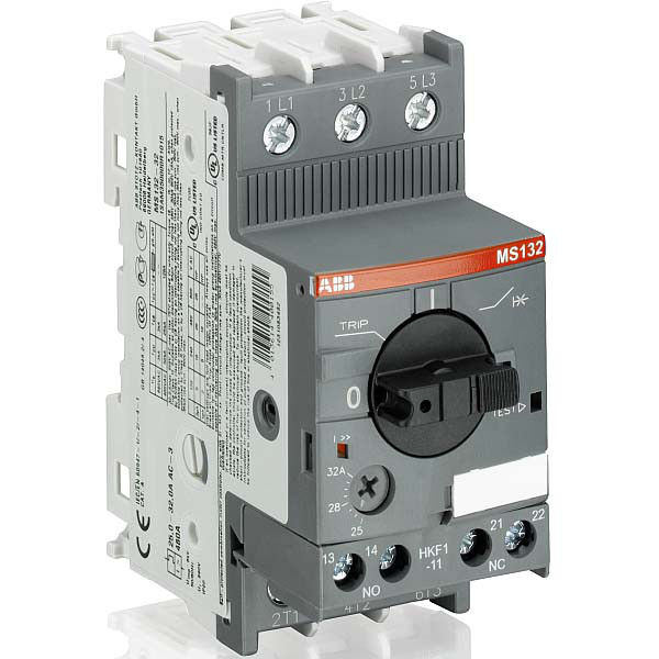 Автомат защиты двигателя ABB MS132-0.63, 1SAM350000R1004