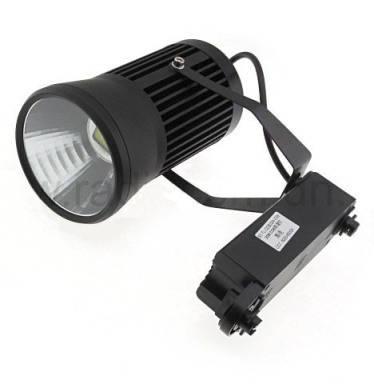 Светодиодный трековый светильник 20W черный 6500К Код. 58038, фото 2