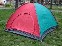 Палатка летняя туристическая 3-х местная 200х150х150см., фото 1