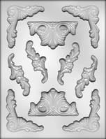 Молд для мастики Бароко (код 03309)