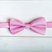 Розовая Галстук-бабочка для жениха или свидетеля (арт. GB-3)