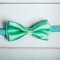 Мятная галстук-бабочка (арт. GB-4)