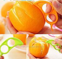 Уникальное приспособление для чистки апельсина, коралловый, фото 1
