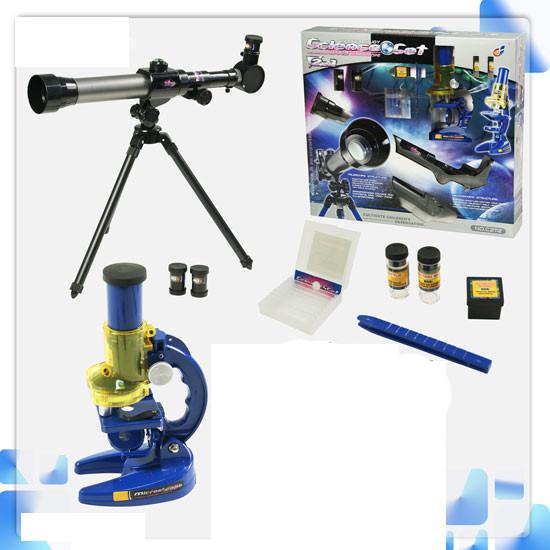 Набор: микроскоп + телескоп С2112