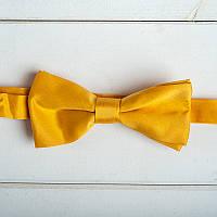 Желтая галстук-бабочка (арт. GB-9)
