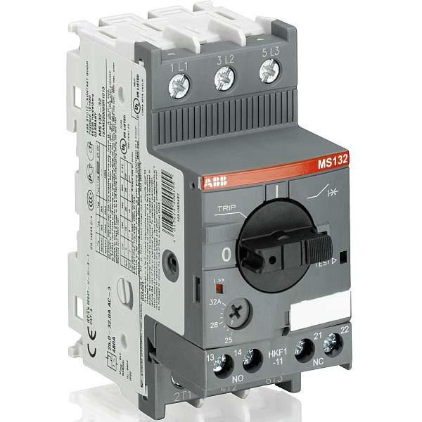 Автомат защиты двигателя ABB MS132-6,3, 1SAM350000R1009