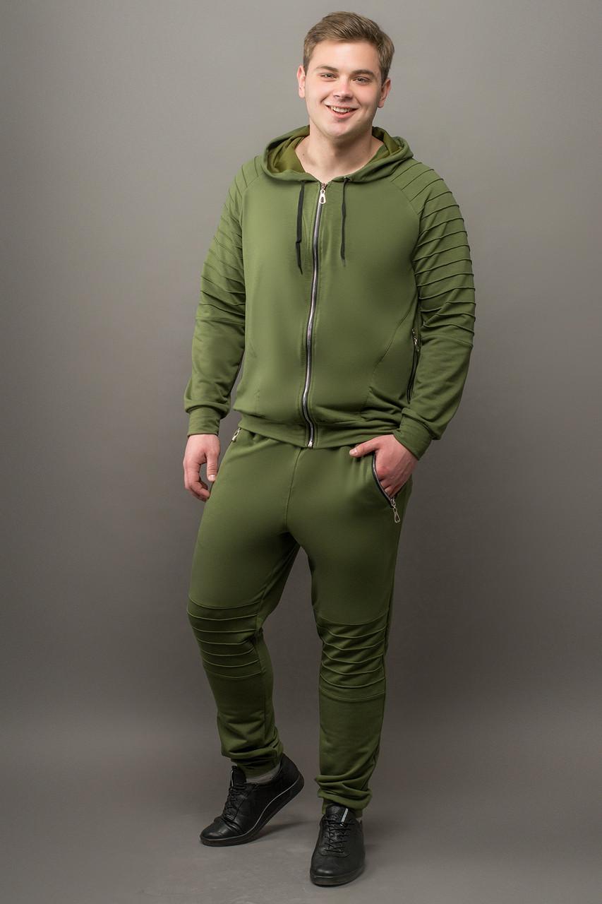 eac22c345c13d Мужской стильный спортивный костюм Тимм, цвет хаки / размерный ряд 46,48,54