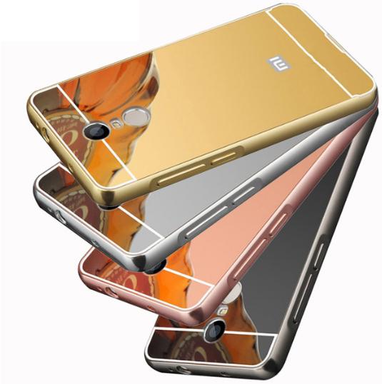 """Зеркальный чехол для Xiaomi Redmi 5 Plus 5,99"""" / Есть стекло"""