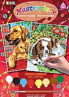 Копия Картина по номерам Sequin Art PAINTING BY NUMBERS JUNIOR PAIRS Dogs SA0214