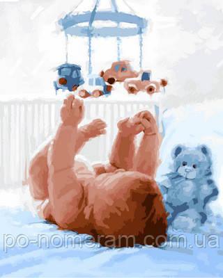 Картина по номерам малыш