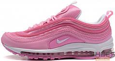 Женские кроссовки Nike Air Max 97 Pink/White