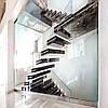 Мраморные лестницы в современном интерьере.