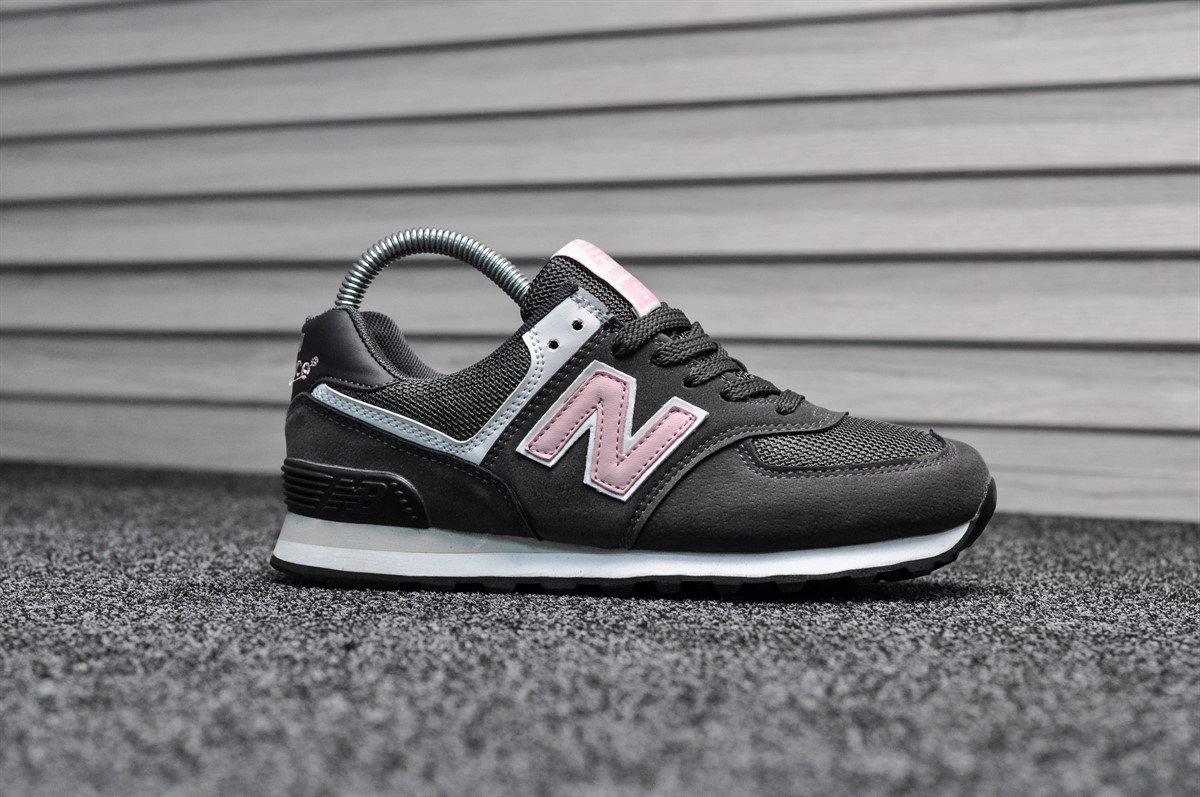 New Balance 574 Gray Pink (Реплика)