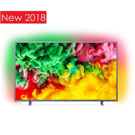 Телевизор Philips 43PUS6703/12 (PPI 1100Гц, 4K Smart, Saphi TV, Quad Core, HDR+, HDR10, HGL, DVB-С/Т2/S2), фото 2