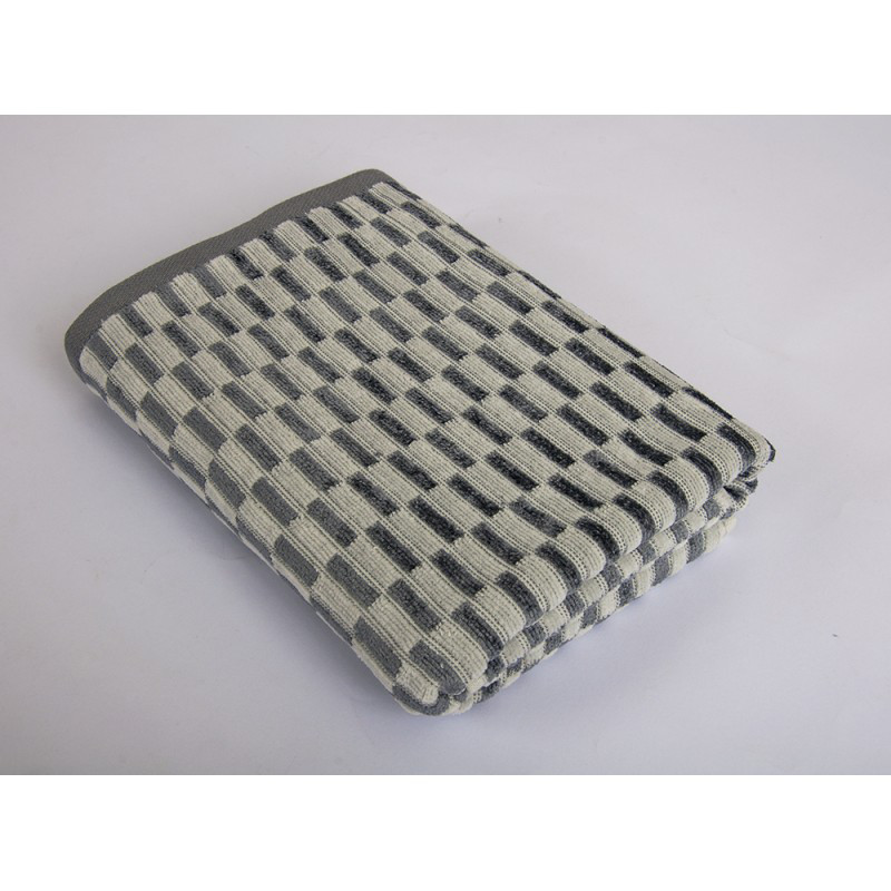 Полотенце Tac - Mila серое 70*140 см