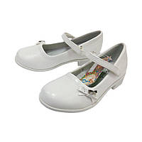 Туфли белые B&G для девочки (р.28,29,31,32)