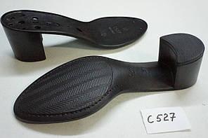 Подошва для обуви С527 черная р,36-41, фото 2