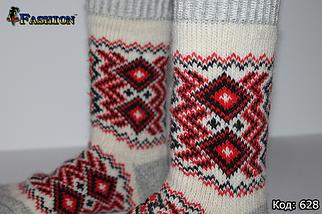 Жіночі шерстяні шкарпетки Зимове диво, фото 3