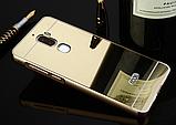 Зеркальный алюминиевый чехол для Leeco Cool1/LeRee Le3/Coolpad/Cool dual Changer 1C Play 6, фото 2