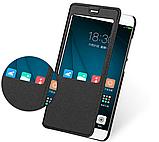 Smart чехол книжка с окошком для Xiaomi Redmi 5 Plus / Есть стекло защитное, фото 2