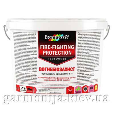 Огнебиозащита для дерева, концентрат Kompozit, фото 2