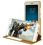 Smart чехол книжка с окошком для Xiaomi Redmi 5 Plus / Есть стекло защитное, фото 5