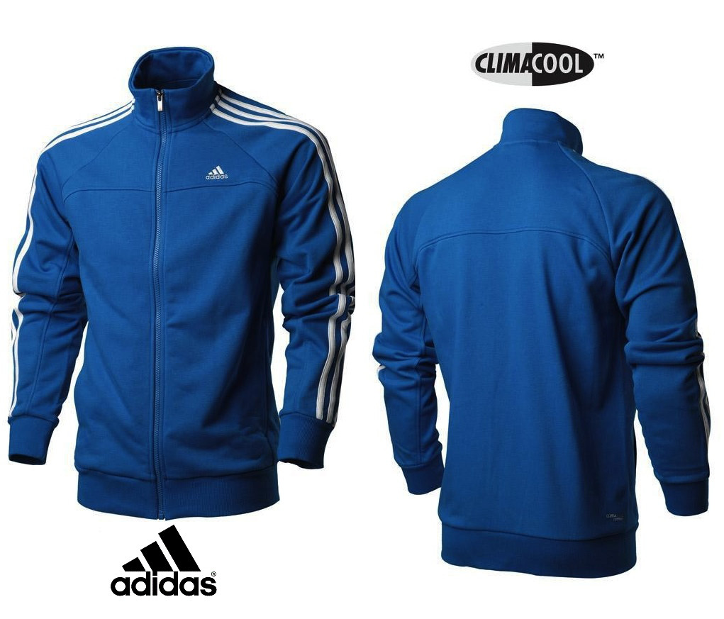 Кофта Adidas Perfomance ClimaLite Cotton blue