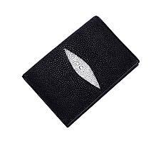 Обкладинка для паспорта Ekzotic Leather ерная (stp01)