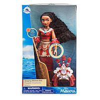 Поющая классическая кукла Моана Ваяна с веслом Дисней 2 выпуск Disney Moana , фото 1