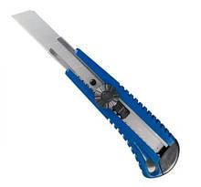 Нож универсальный 18мм (металл направ-я, пласт. корп 165mm) KING TONY 7976-65 (Тайвань)